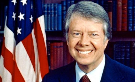 "Icon16العمليّة الفاشلة لإنقاذ رهائن السفارة الأمريكيّة في ""طهران"" Jimmy-Carters.3"
