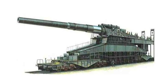المدفع الألماني العملاق..غوستاف!!! M.S.1