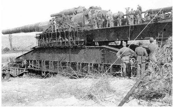 المدفع الألماني العملاق..غوستاف!!! M.S.2