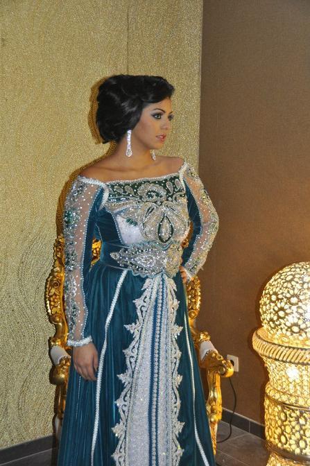 تشكيلة جميلة من الأزياء المغربية للسهرات