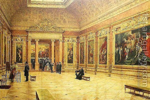 متحف اللوفر في باريس Louver.M.3