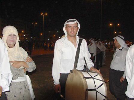 شموع الخضر في التراث البغدادي والعراقي...! Tabul.Zr.JPG