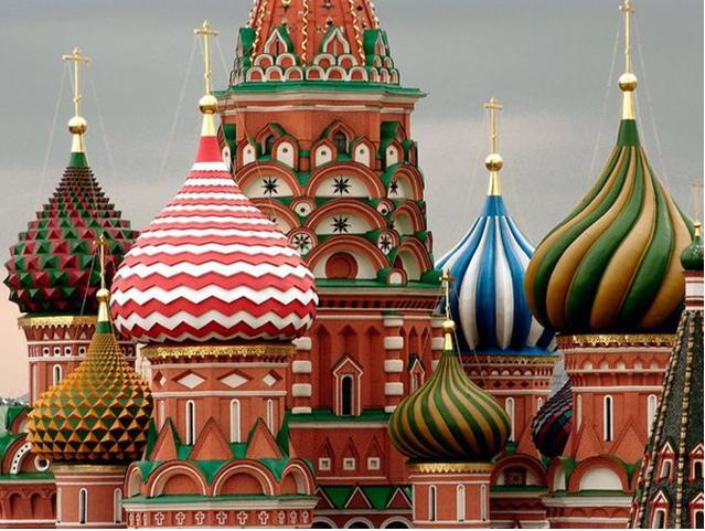 الگاردينيا مجلة ثقافية عامة كاتدرائية القديس باسيل رمز روسيا