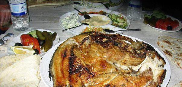 سمك المسكوف العراقي اكلات ارض