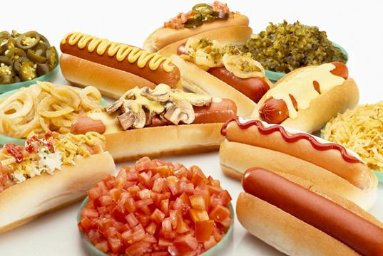 German Style Hot Dog Toppings
