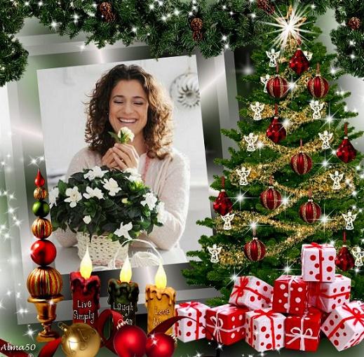 * المجد لله في العلا . وعلى الأرض السلام . وفي الناس المسرة ... والرجـاء الصالح لبني البشر * الميلاد حسب الطقس الشرقي  Christmas%20tree.2
