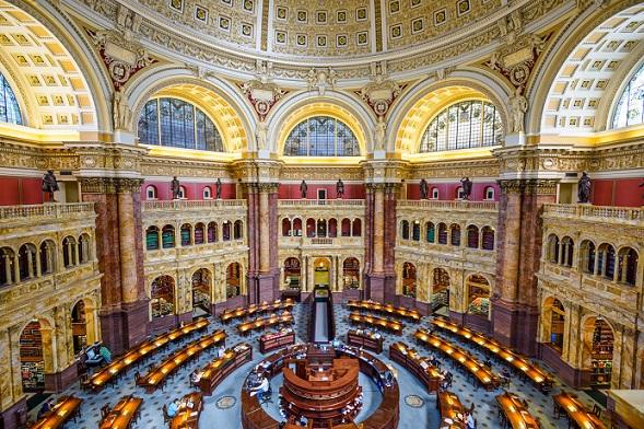 """بـ١٦٤مليون مصنّف.. """"مكتبة الكونغرس"""" الأمريكية الأثرى عالمياً  Kongress.B"""