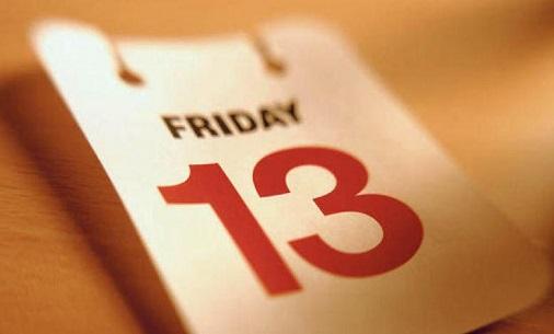 «موعد مع الكارثة»... هكذا وصفت صحيفة «ذا صن» البريطانية يوم الجمعة الموافق 13 من الشهر، والذي يتشاءم منه البعض في العالم لأسب Friday-13-100